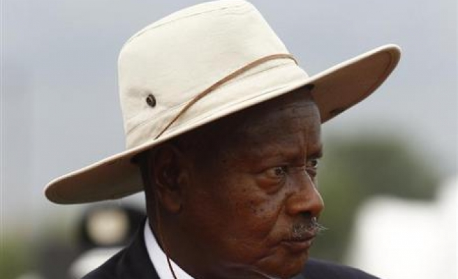Ugandan opposition leader calls for 'regime change'