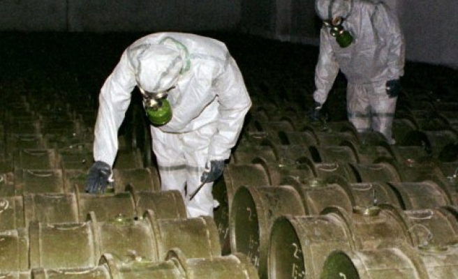 Chlorine used as chemical weapon in Syria, claims expert