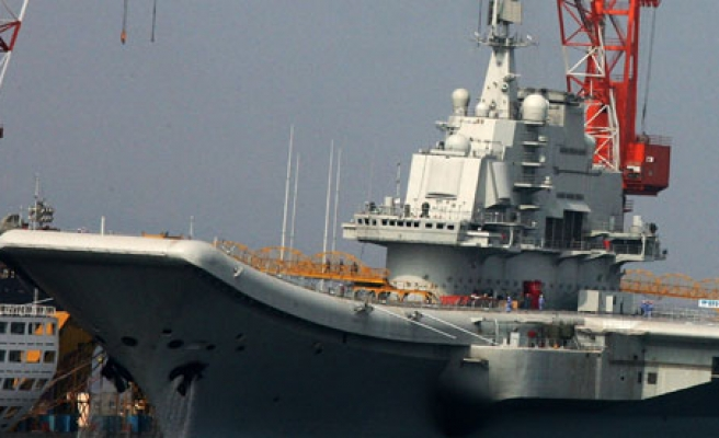 China building second aircraft carrier