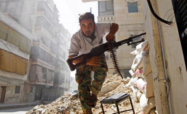 Syrian rebel offensive encroaches on last chemical stockpile