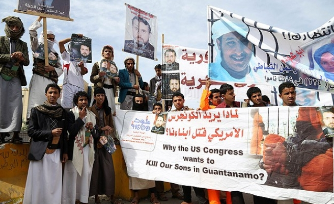 Yemenis protest Guantanamo detentions