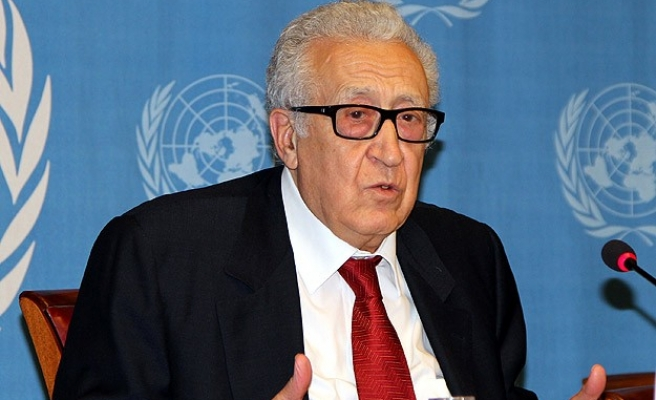Brahimi to meet senior US, Russian officials over Syria