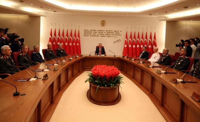 Military jurisdiction bill approved by Turkish parliamentary commission