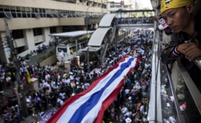 Thai protest leader says no negotiations with gov't