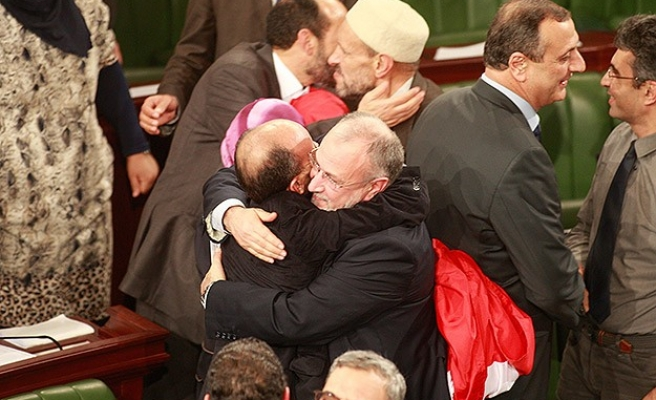 Ghannouchi: New constitution makes Tunisia 'model' for Arabs