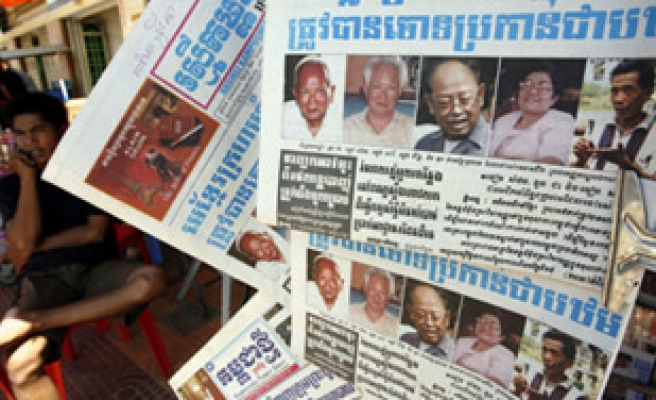 Khmer Rouge prison chief before UN-backed tribunal