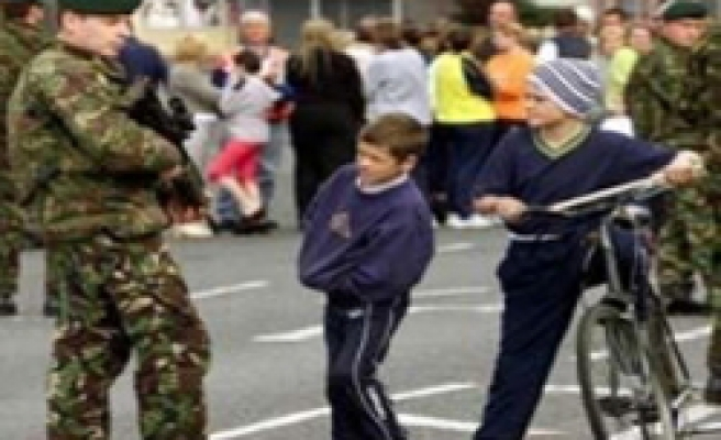 UK army ends presence in N Ireland