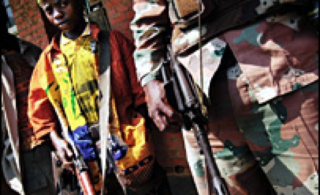 African child soldiers 'need mental help'