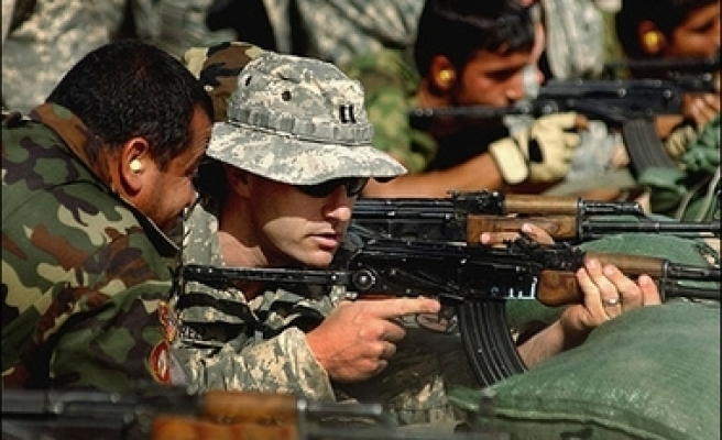 'US can't account for firearms to Iraqi forces'
