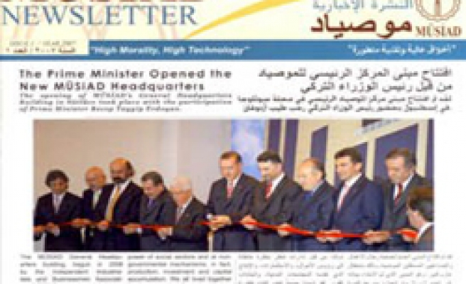 English and Arabic bulletin from MUSIAD