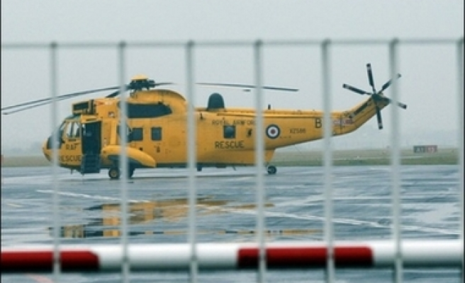 Two die after RAF helicopter crashes in England