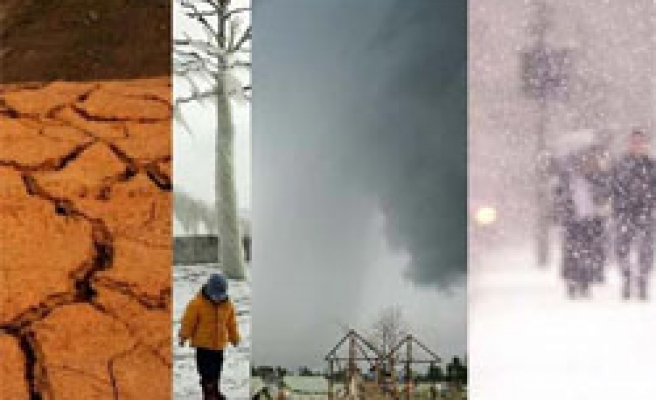 Who is guilty for the extreme weather?