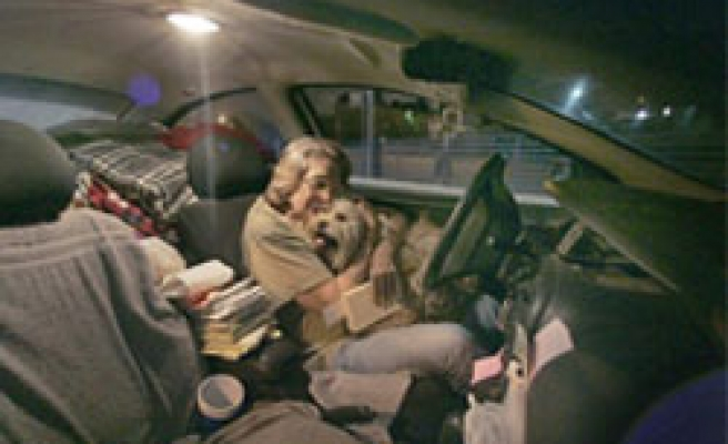 Man living in car since 2000 upsets city