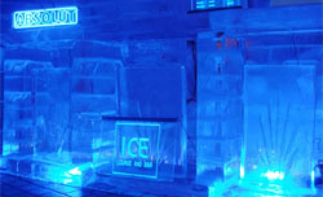 The first ice lounge in Dubai