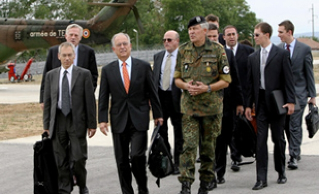 First Kosovo mission of big-power envoys ends amid impasse