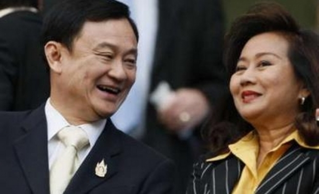 Thailand's ousted premier and wife on immigration blacklist