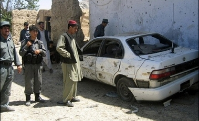 Afghan district governor, family killed in suicide attack