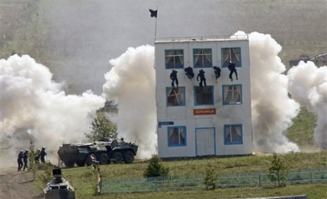 Russia, China Hold Joint War Games