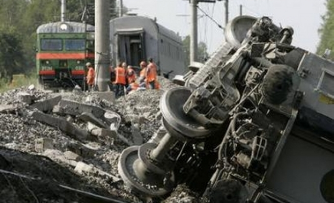 No suspects detained over train bombing: Russia