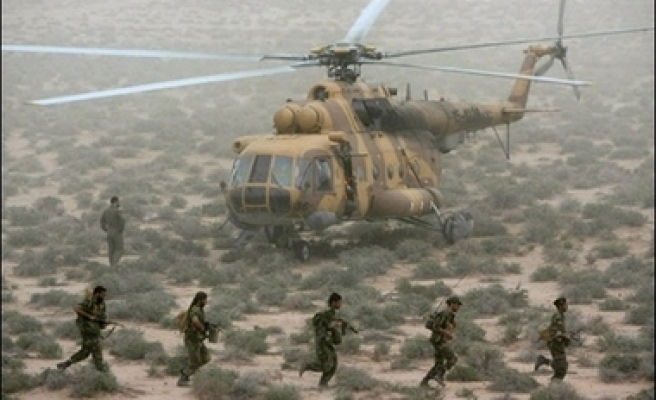 Six Iranian guards killed in helicopter crash