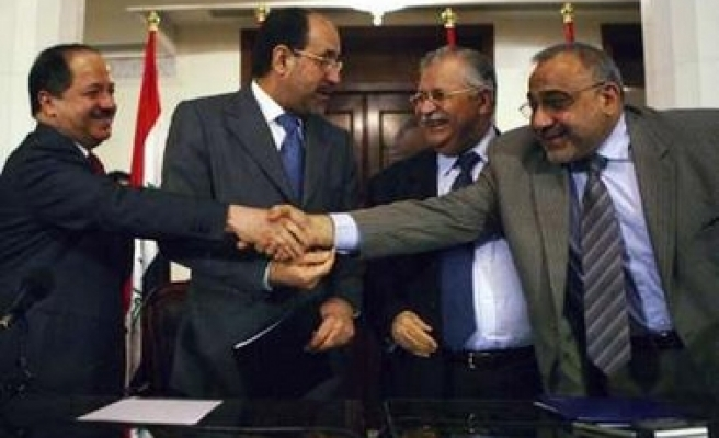 Iraqi leaders meet in bid to end political paralysis