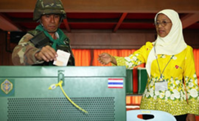 Thai ballot reveals country divided