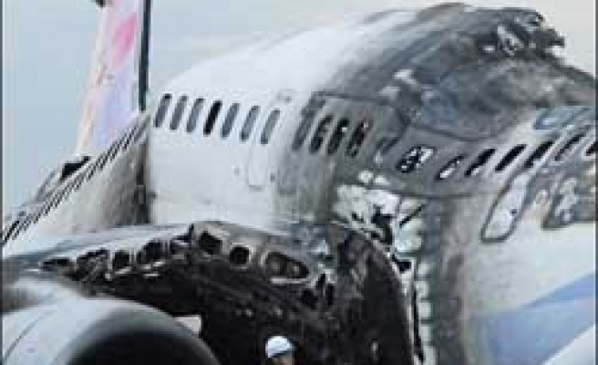 China Airlines offers payment to fire survivors