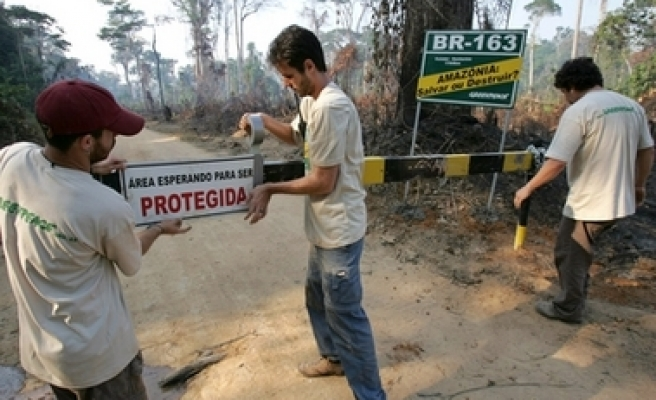 Brazil gov't agency selling Amazon forest land, alleges Greenpeace