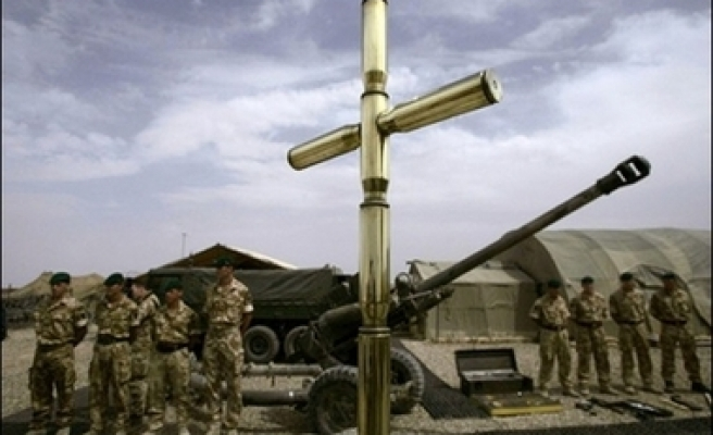 Three British soldiers killed by US bomb in Afghanistan - ministry