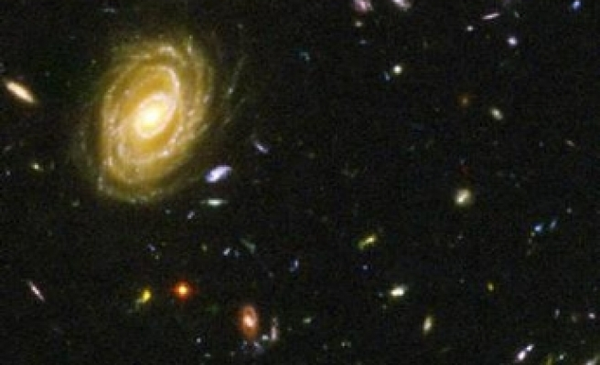 Astronomers find a hole in the universe