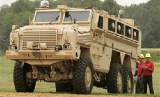New U.S. armored trucks are symbolic targets: general