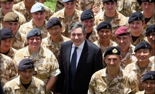 Britain withdraws troops from central Basra - report