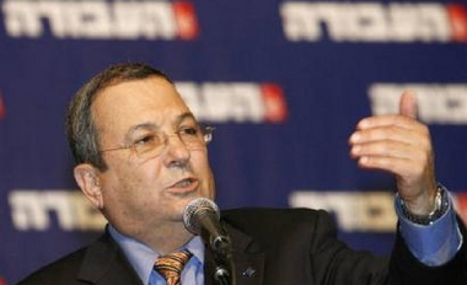 Israel's Barak: tensions with Syria fading