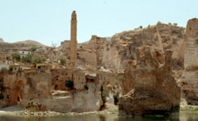 Roman mosaics discovered in Hasankeyf