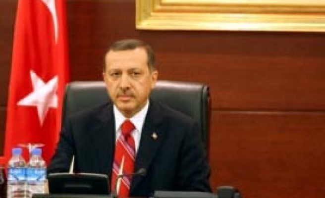 Erdogan holds a news conference
