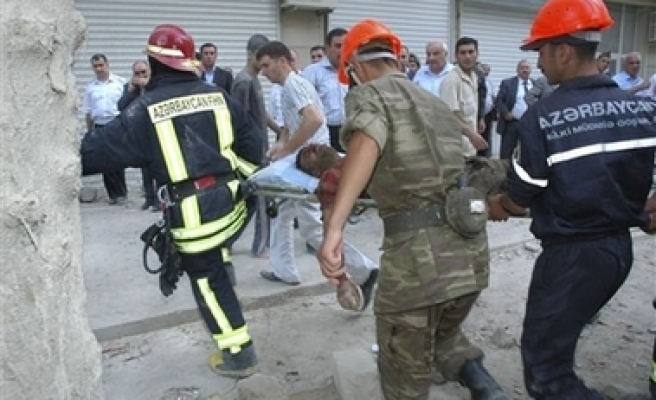 Baku building collapse toll rises to 12