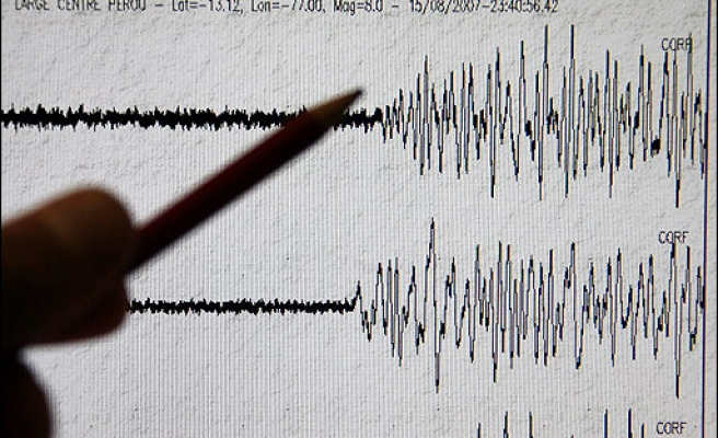 Strong 5.4-Richter undersea quake shakes Aegean Sea, no damage reported