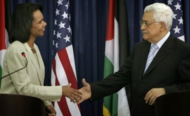 Rice thought Abbas a weak leader