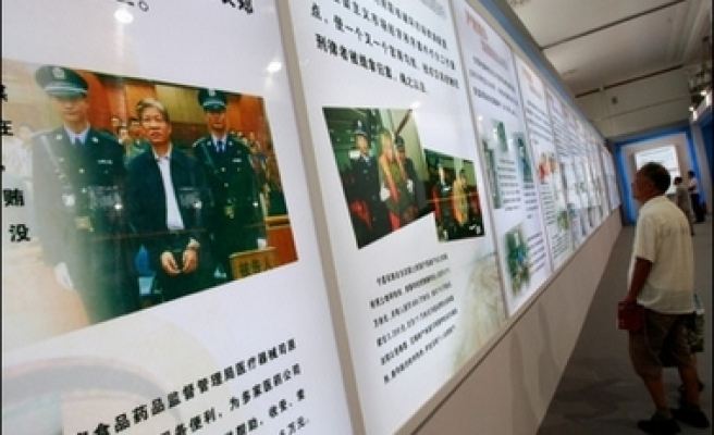 Sex crimes top list of sins for China's corrupt officials