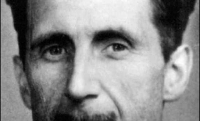 Britain's own 'Big Brother' eyed Orwell