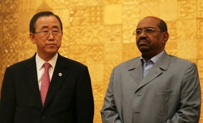 U.N. chief, Sudanese leader set talks
