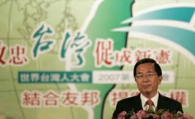 Taiwan president raps US for siding with China