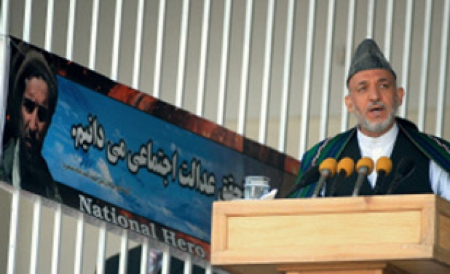 Afghan president's speech remains unfinished