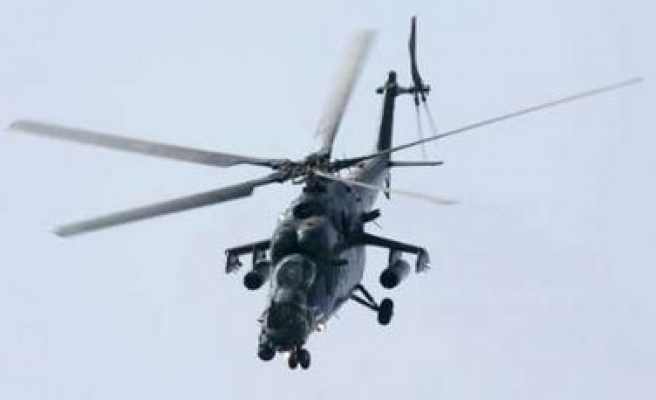 Reports: Russian helicopter disappears with crew aboard