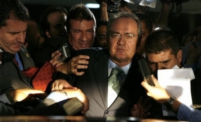 Brazil's senate leader escapes ouster vote