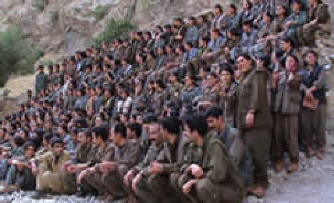 PKK uses N. Iraq as arsenal: Official report