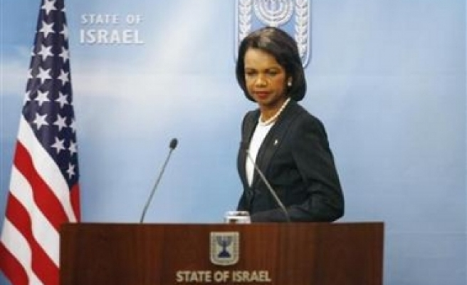 US won't stand in way of Israel-Syria talks: Rice