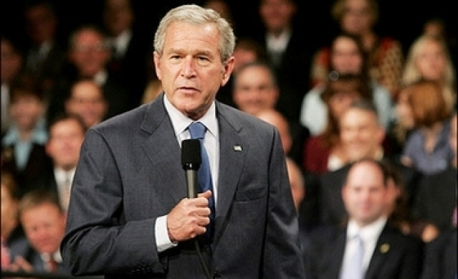 Bush does not to rule out talks with Iran