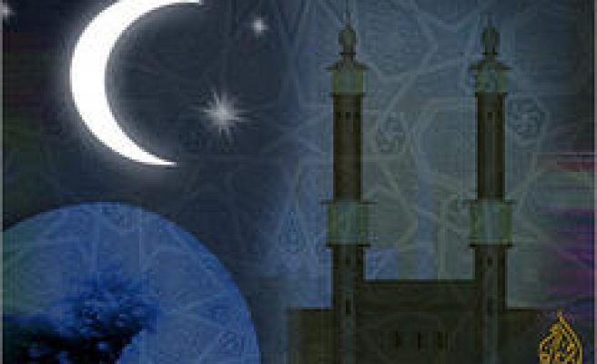 Eid starts Monday in all of the Islamic Countries