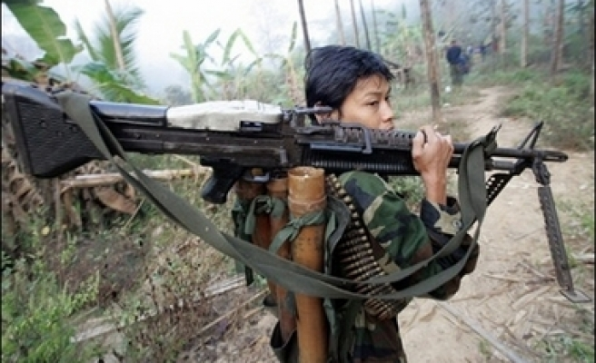 Myanmar army says strike against rebels was a 'warning'